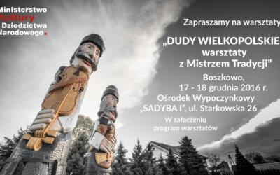 DUDY WIELKOPOLSKIE – program warsztatów